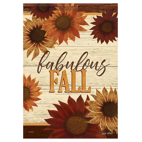 Carson Fall Garden Flag - Fabulous Fall Floral