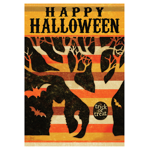 Carson Halloween Banner Flag - Halloween Tree