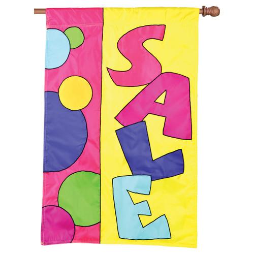Sale Applique Banner Flag