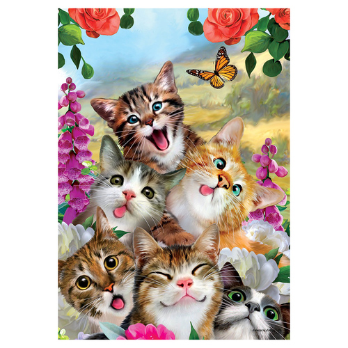 Everyday Banner Flag - Cat Selfie