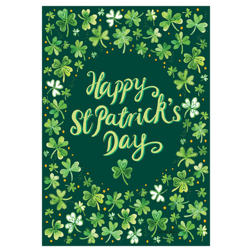 St. Patrick's Day Banner Flag - Lucky Charm
