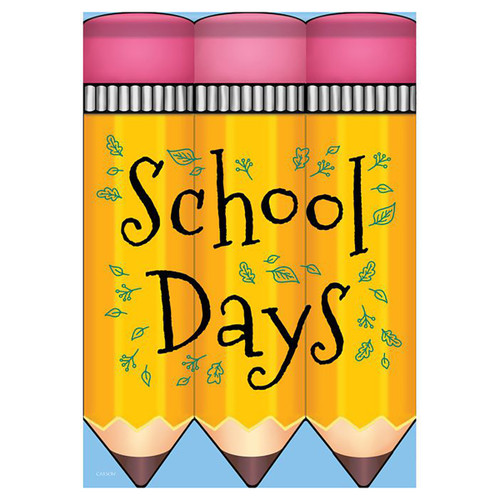 School Days Banner Flag