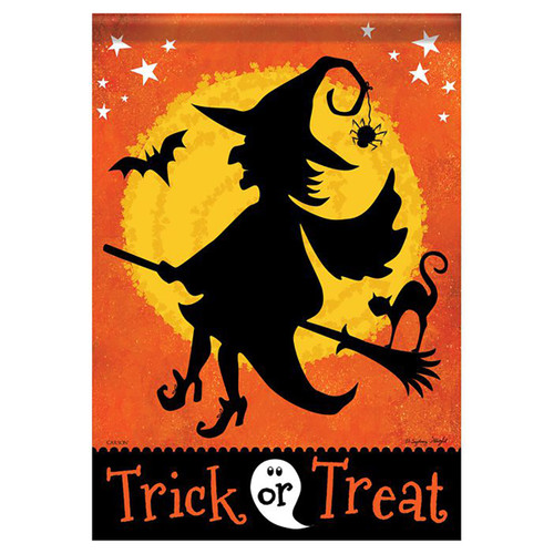 Halloween Banner Flag - Witchy Night