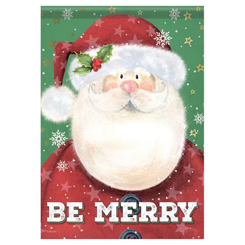 Christmas Banner Flag - Santa's Here