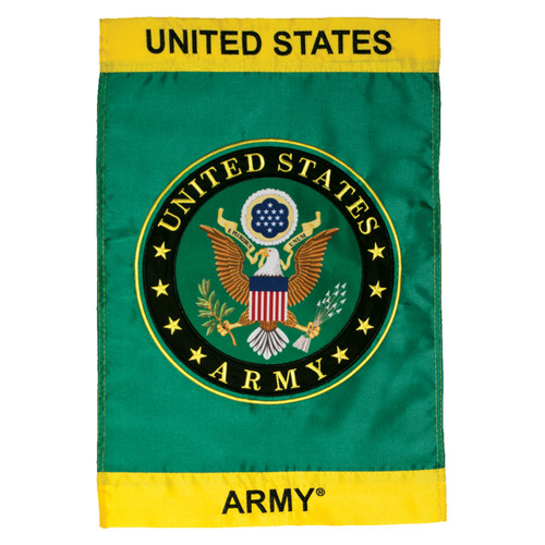 U.S. Army Symbol Applique Garden Flag