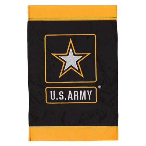 U.S. Army Logo Applique Garden Flag