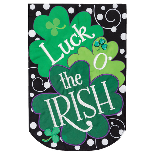 St. Patrick's Day Garden Flag - Luck of the Irish