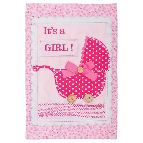 Life Event Garden Flag - It's a Girl