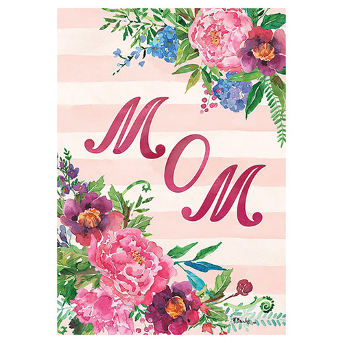 Mother's Day Banner Flag - Mom