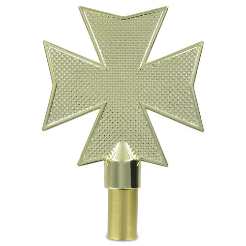 6.5in Maltese Cross Finial