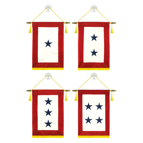 "Blue Star Service Banner - 10"" x 14"""
