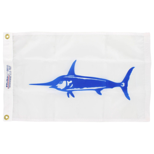 12in x 18in Nylon Swordfish Flag