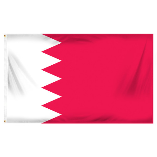Bahrain Flag 3ft x 5ft Printed Polyester