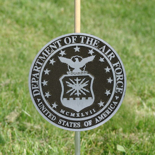 Air Force Grave Marker - Aluminum