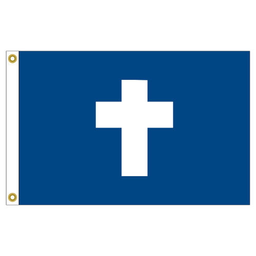 US Yacht Club Chaplain 12in x 18in Nylon Flag