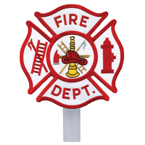 Fire Department Grave Flag Holder