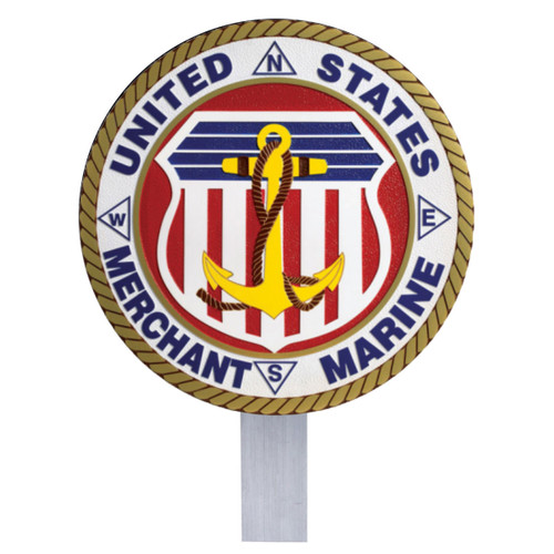 Merchant Marine Grave Flag Holder