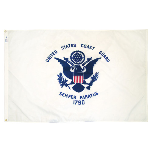 US Coast Guard Flag 3x5ft Nylon