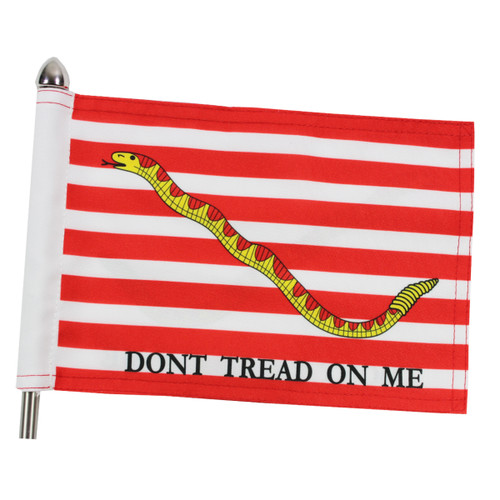 "Super Tough Navy Jack Motorcycle Flag - 6"" x 9"""
