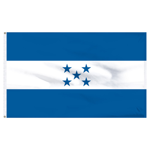 Honduras 5ft x 8ft Nylon Flag