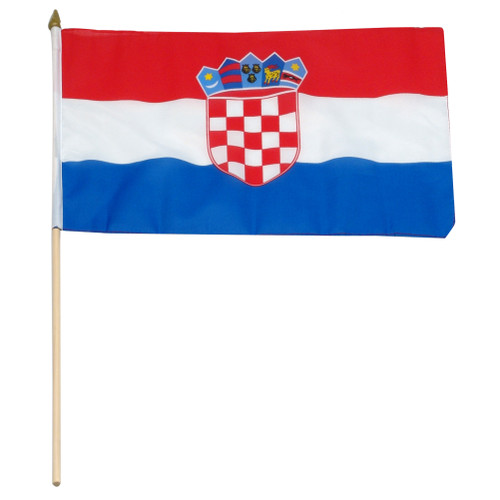 Croatia flag 12 x 18 inch