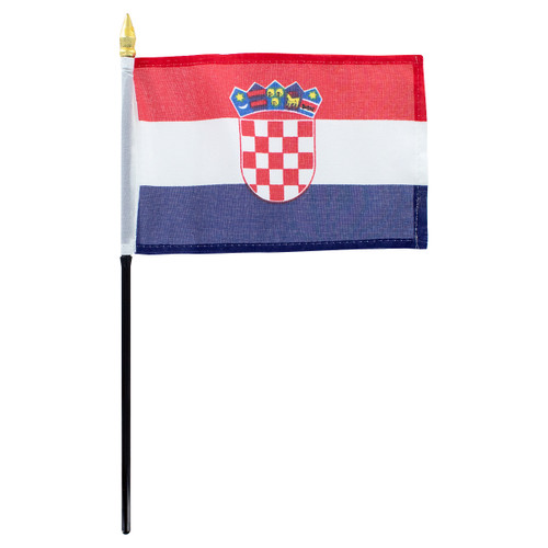 Croatia flag 4 x 6 inch