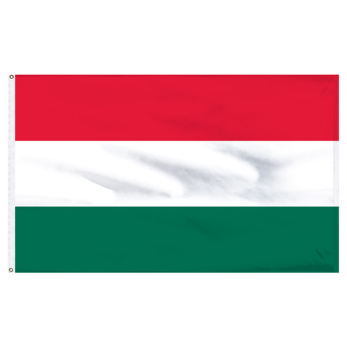 Hungary 6ft x 10ft Nylon Flag