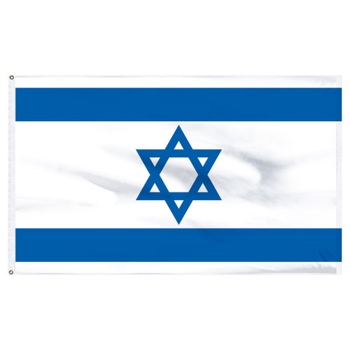 Israel 5ft x 8ft Nylon Flag