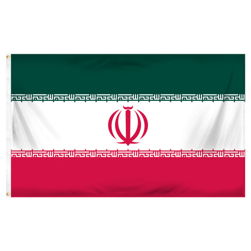 Iran 3ft x 5ft Printed Polyester Flag