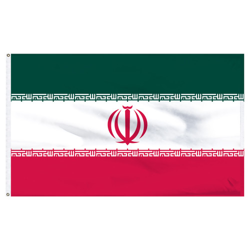 Iran 5ft x 8ft Nylon Flag