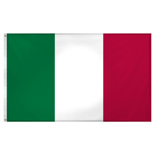 Italy flag 3ft x 5ft Super Knit polyester