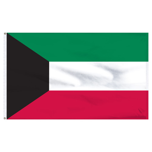 Kuwait 5ft x 8ft Nylon Flag