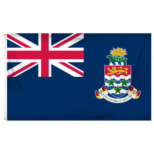 Cayman Islands 3ft x 5ft Printed Polyester Flag