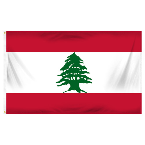 Lebanon 3ft x 5ft Printed Polyester Flag