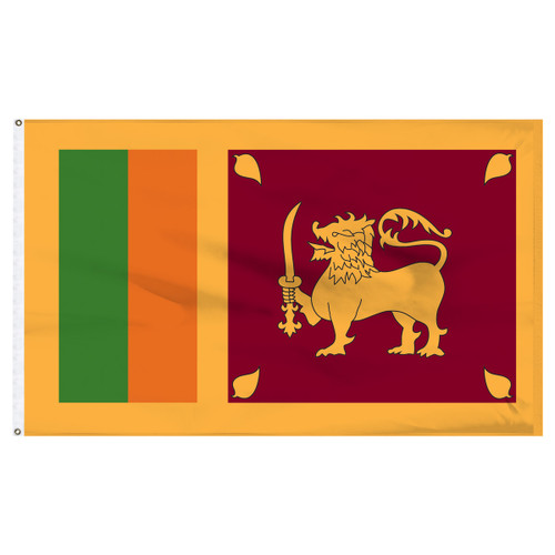 Sri Lanka 5ft x 8ft Nylon Flag