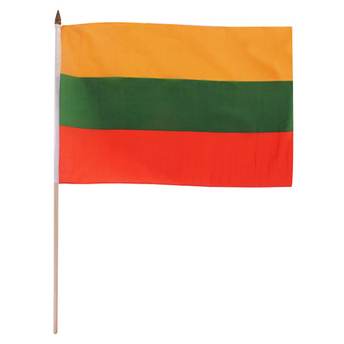 Lithuania flag 12 x 18 inch