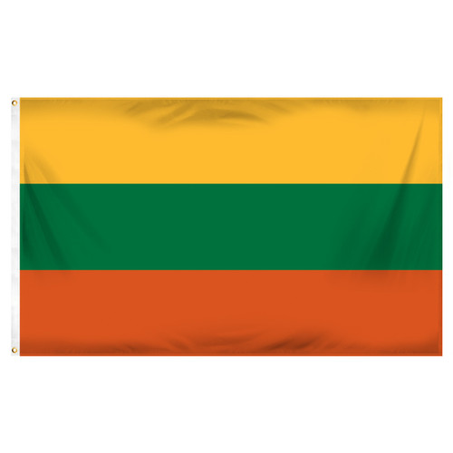 Lithuania 3ft x 5ft Printed Polyester Flag