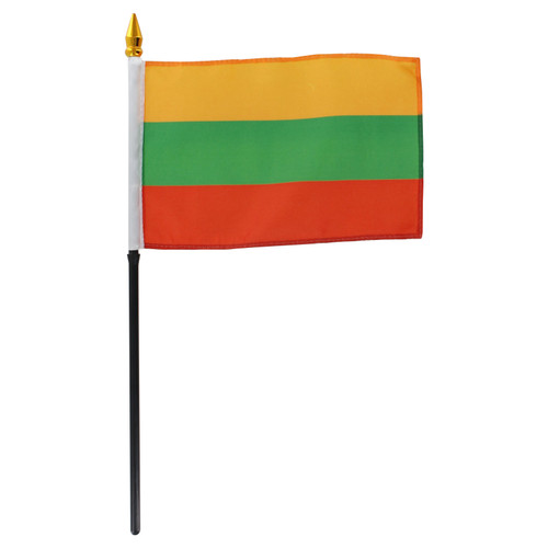 Lithuania flag 4 x 6 inch