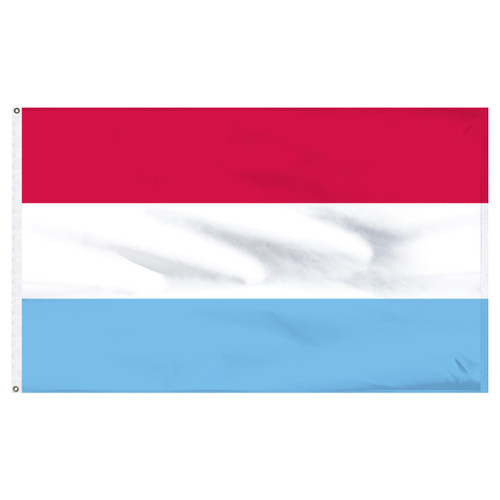 Luxemburg 6ft x 10ft Nylon Flag