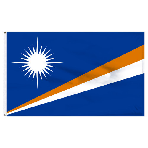 Marshall Islands 4ft x 6ft Nylon Flag