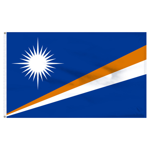 Marshall Islands 5ft x 8ft Nylon Flag