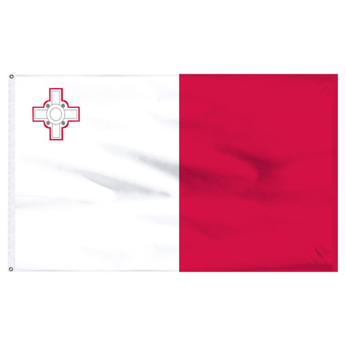 Malta 5ft x 8ft Nylon Flag