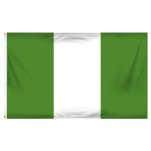 Nigeria 3ft x 5ft Printed Polyester Flag