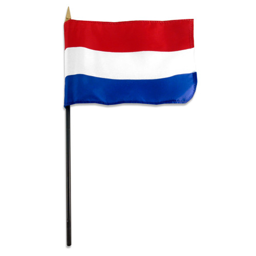 Netherlands flag 4 x 6 inch