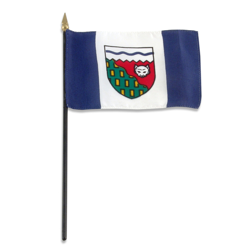Northwest Territories flag 4 x 6 inch