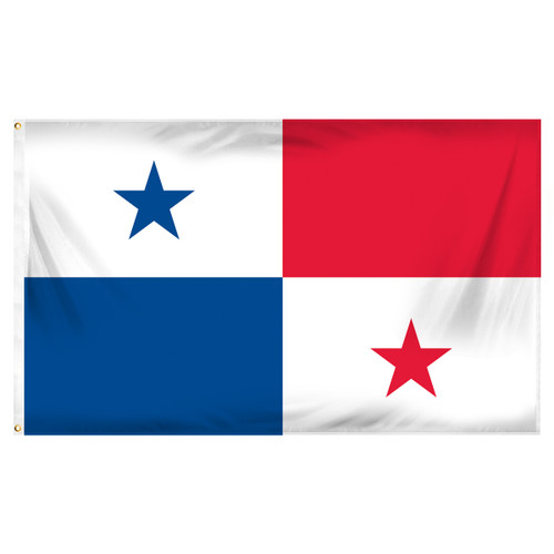 Panama 3ft x 5ft Printed Polyester Flag