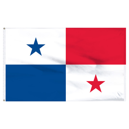 Panama 5ft x 8ft Nylon Flag