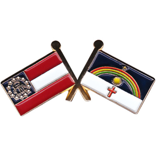 Custom Lapel Pin Stock Flags