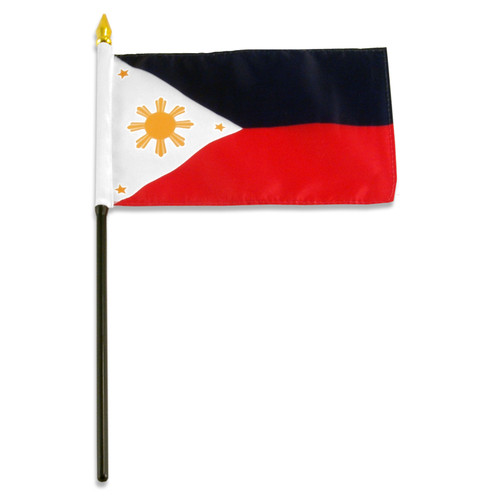 Philippines flag 4 x 6 inch
