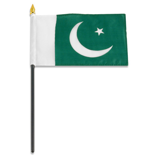 Pakistan flag 4 x 6 inch